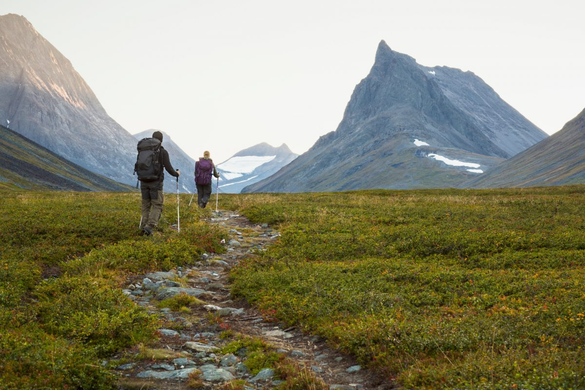 Kungsleden, Sweden's King's Trail <br /> Photo: Michael Jönsson / imagebank.sweden.se