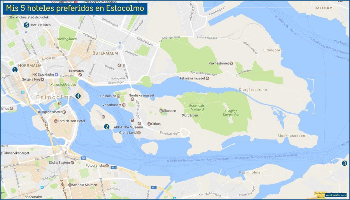 Mis 5 hoteles preferidos en Estocolmo <br> sweetsweden.com