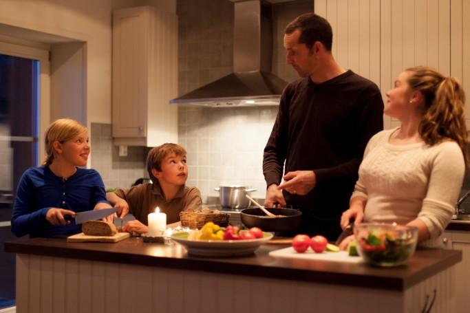 Familia sueca - Foto: Niclas Vestefjell - imagebank.sweden.com