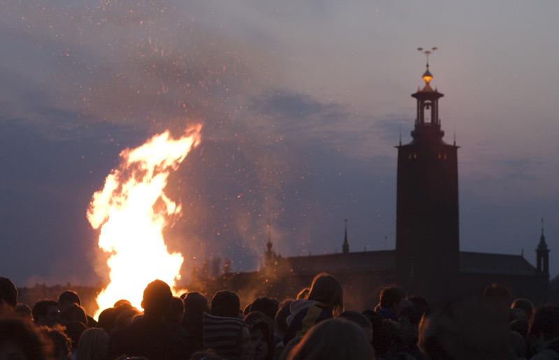 Noche de Walpurgis, foto: Ola Ericson - imagebank.sweden.se