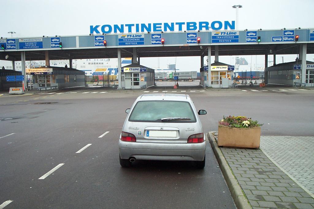 En coche a Suecia en 2004 <br> Foto: Israel Úbeda / sweetsweden.com