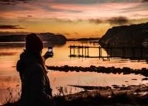 Capturando una puesta de sol en Suecia, foto: Per Pixel Petersson / imagebank.sweden.se