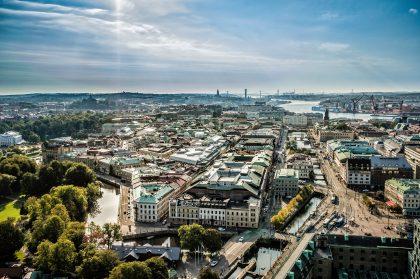 Panorámica de Gotemburgo Foto: Per Pixel Petersson / imagebank.sweden.se