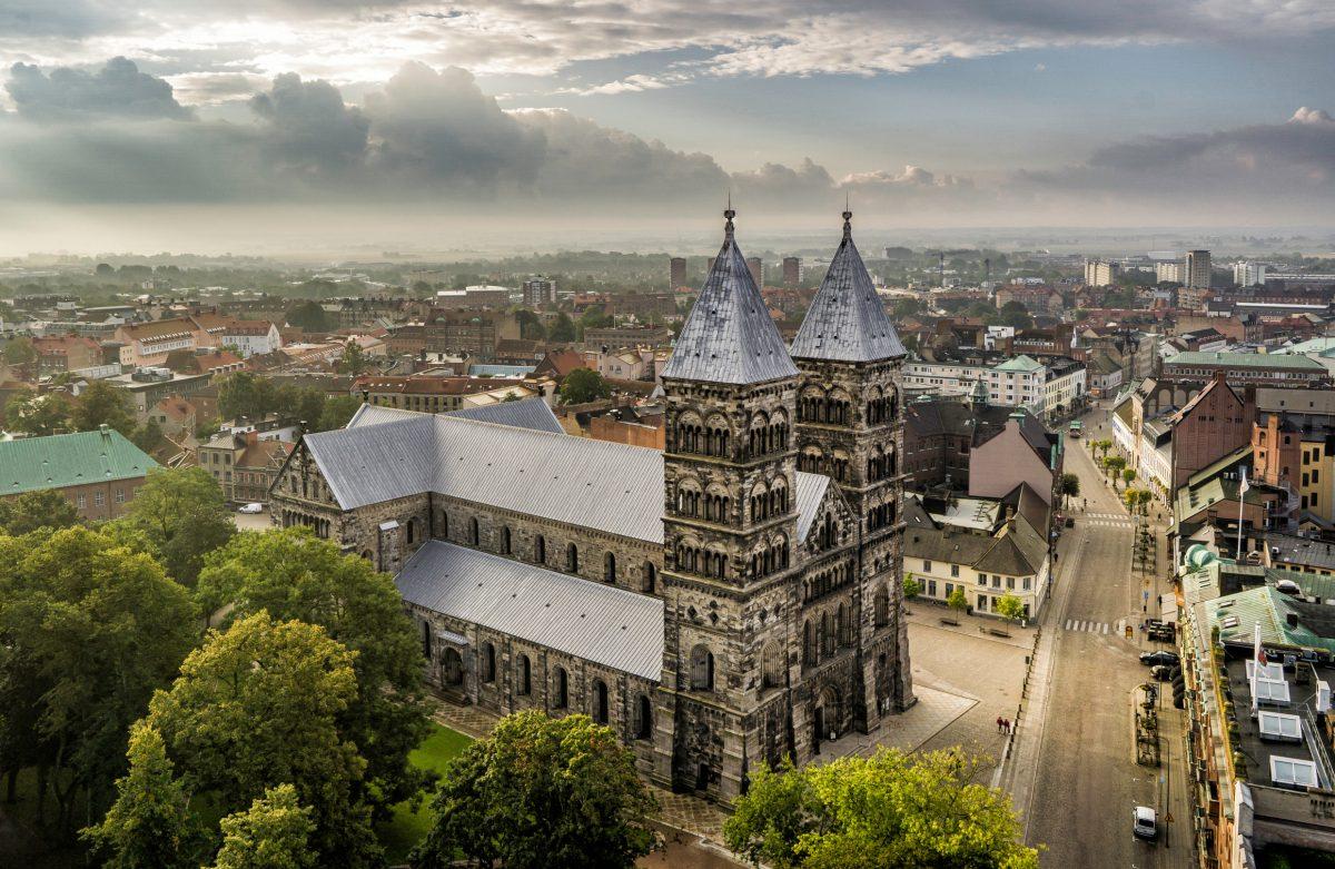 Catedral de Lund <br> Foto: Per Pixel Petersson / imagebank.sweden.se