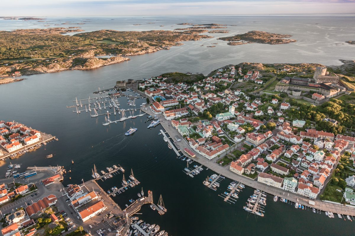 Marstrand, an iconic destination in the West Coast of Sweden <br /> Photo: Per Pixel Petersson / imagenbank.sweden.se