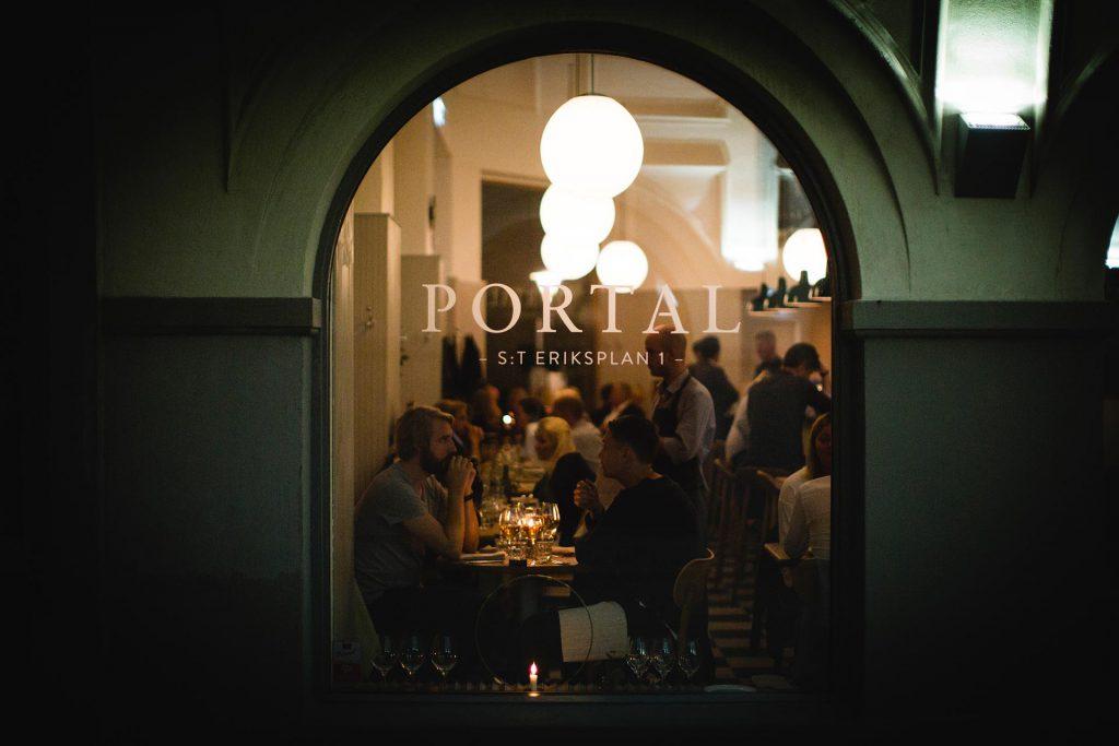 Restaurante Portal en Estocolmo <br> Foto: portalrestaurant.se