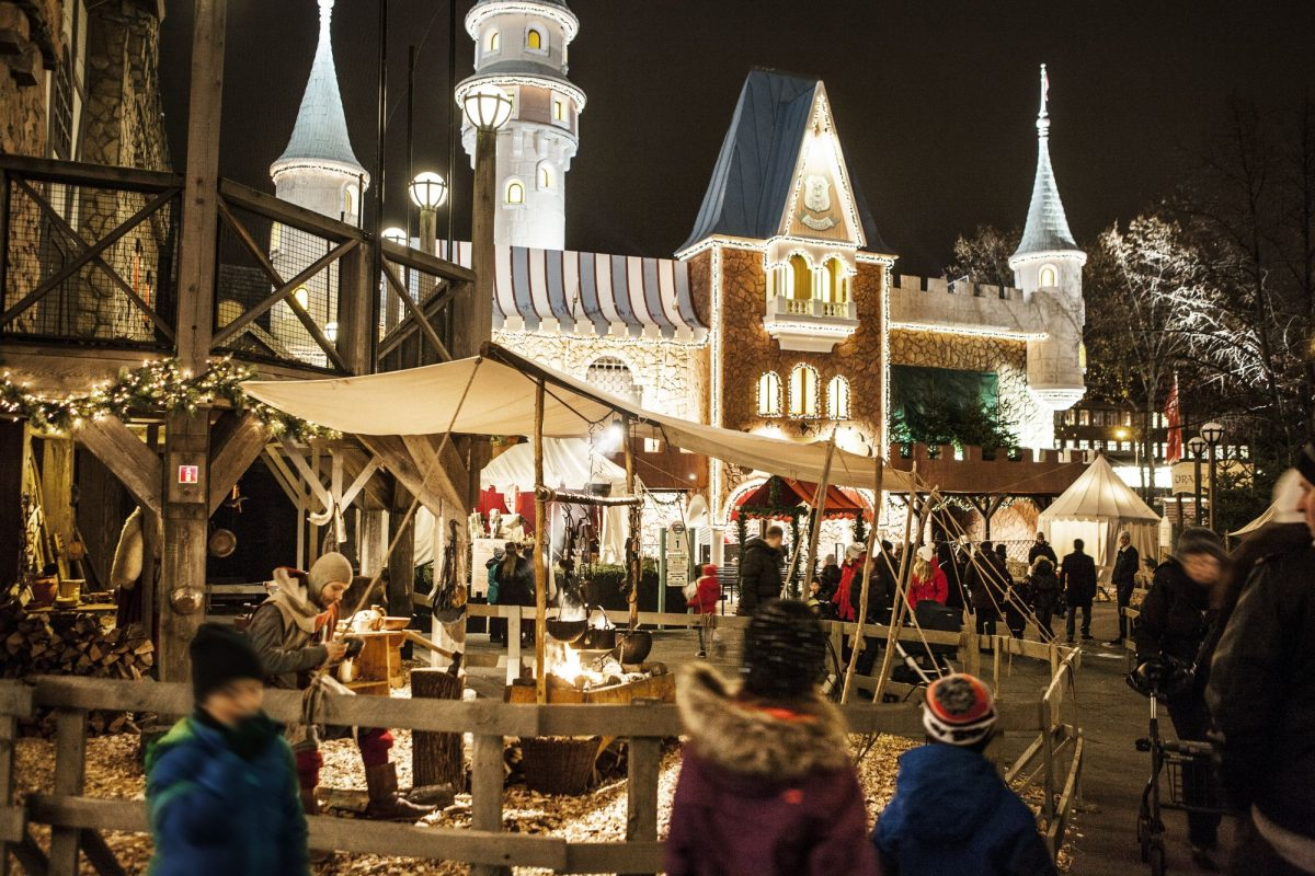 Mercado medieval en Liseberg <br> Foto: Liseberg