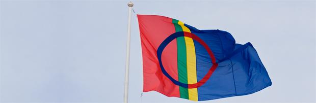 La bandera sami <br> Foto: vbm.se