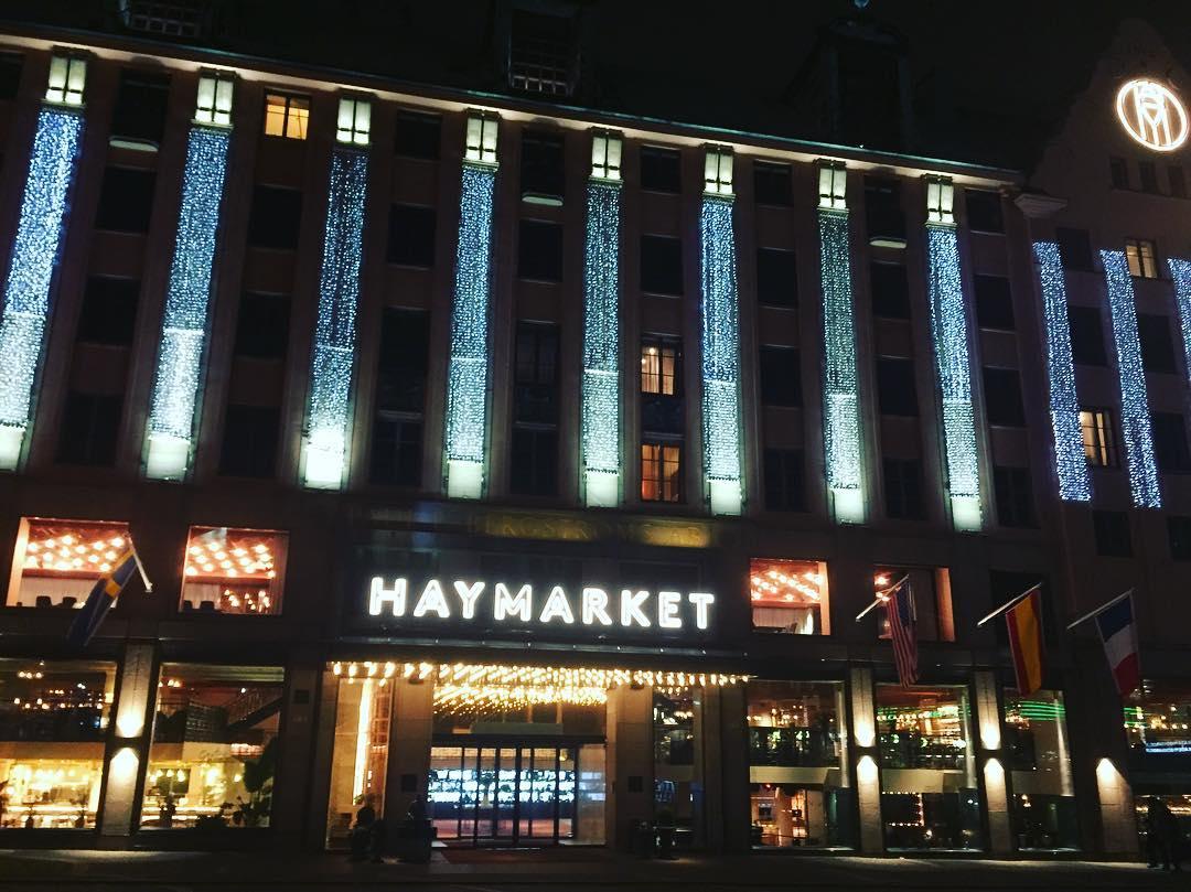 Scandic Haymarket acoge dos restaurantes y la coctelería Americain <br> Foto: Israel Ubeda / sweetsweden.com