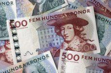 Billetes de 500 SEK Foto: Riksbanken