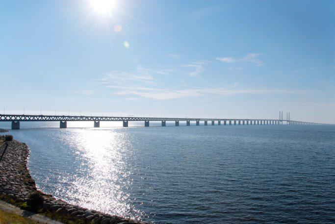 Vista del puente de Öresund - Foto: Silvia Man / imagebank.sweden.se