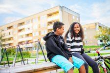 Niños en la Suecia multicultural - Foto: Simon Paulin / imagebank.sweden.se