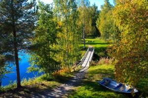 Paisaje de Skellefeteå en la Laponia sueca - Foto: Israel Úbeda