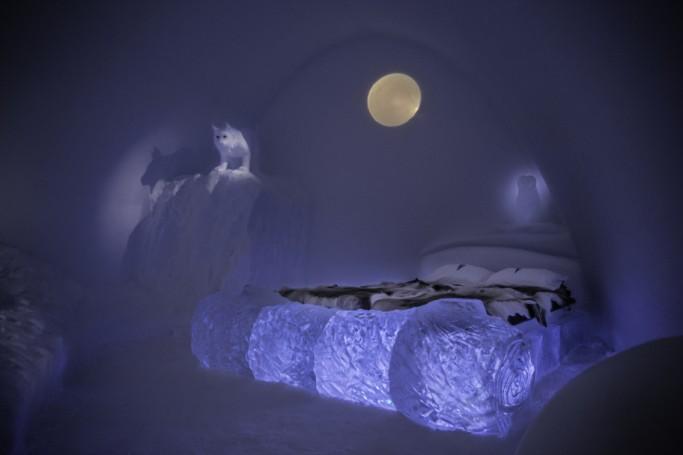Foto de una suite del hotel de hielo 2015 - Foto de Paulina Holmgren