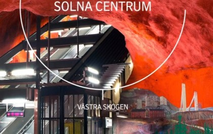 Solna Centrum, estación en el metro de Estocolmo