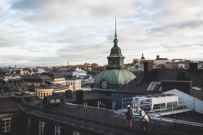 Rutas guiadas por los tejados de Estocolmo - Foto: Tuurka Ervasti - imagebank.sweden.se