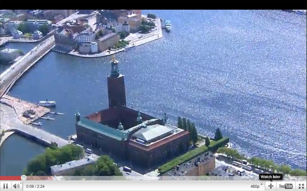 Imagen del nuevo vídeo de promoción turística de Estocolmo