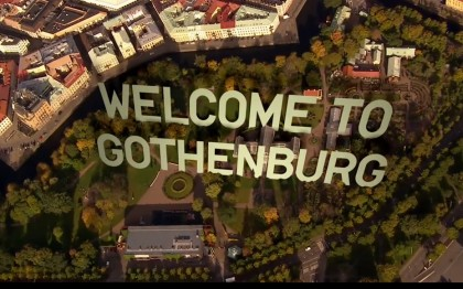 Welcome to Gothenburg / Bienvenido a Gotemburgo