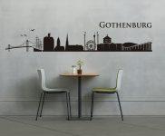 Vinilo del skyline de Gotemburgo de alacesta.com