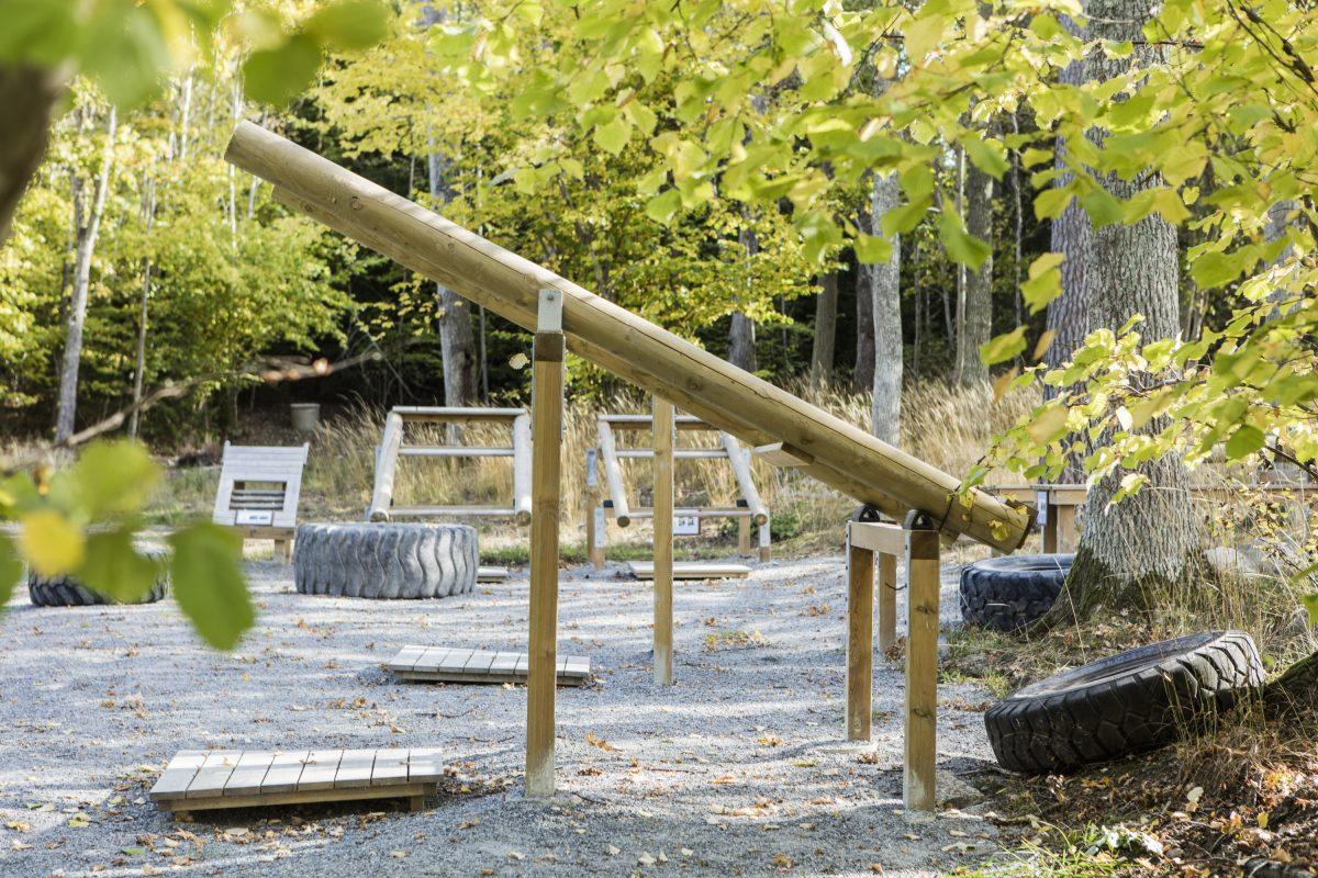 Centro de juegos para los más pequeños en Siggesta Gård <br> Foto: © Lina Eidenberg Adamo