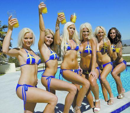 Las chicas de Glamour of Sweden