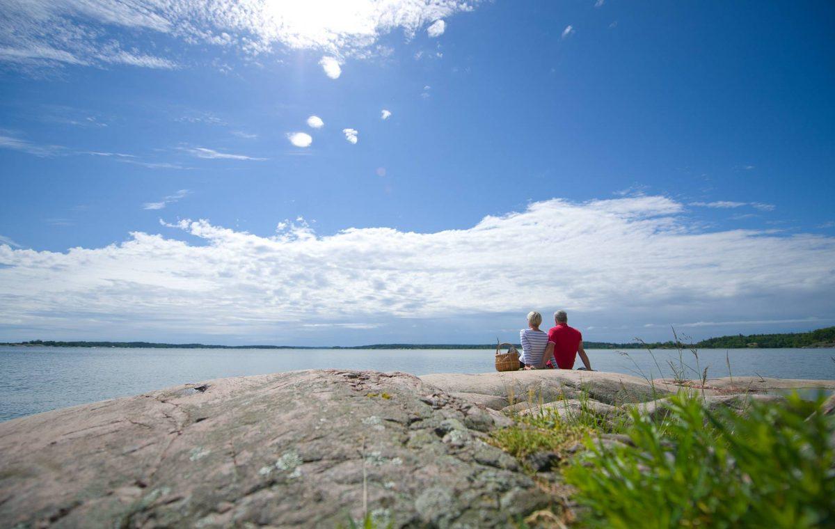En la costa de Östergötland <br> Foto: Oskar Lürén