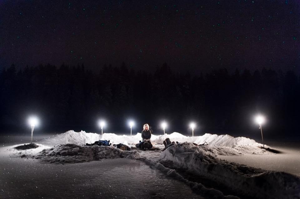 Relajación en el ártico en la Laponia sueca <br> Foto: Facebook / Active North