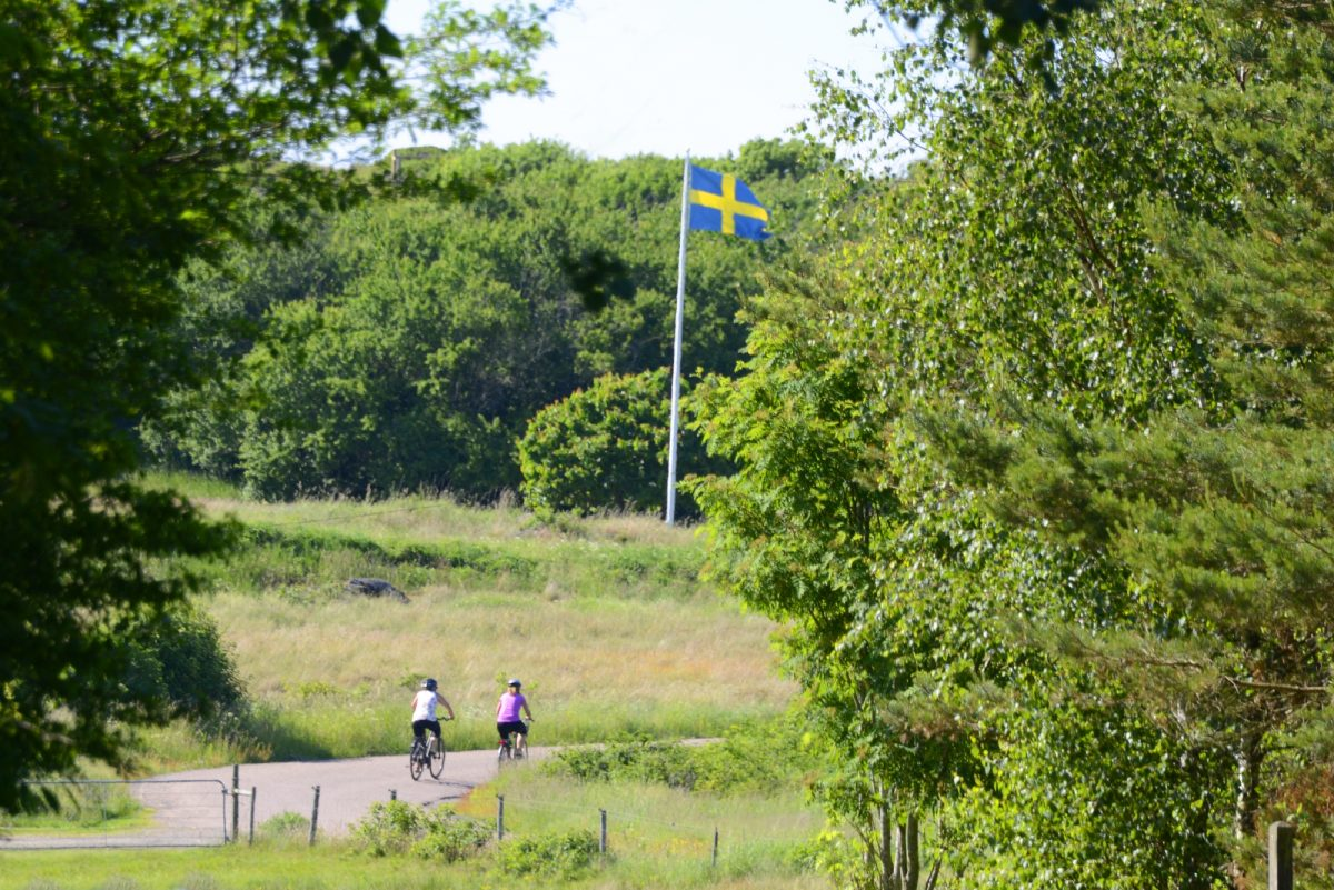 Kattegatleden is Sweden's first national cycle route <br /> Photo: Adde / Region Halland