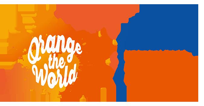 Naciones Unidas reclama en su logo el fin de la violencia de género