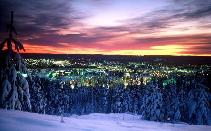 Vista de Skellefteå <br> Foto: Destination Skellefteå
