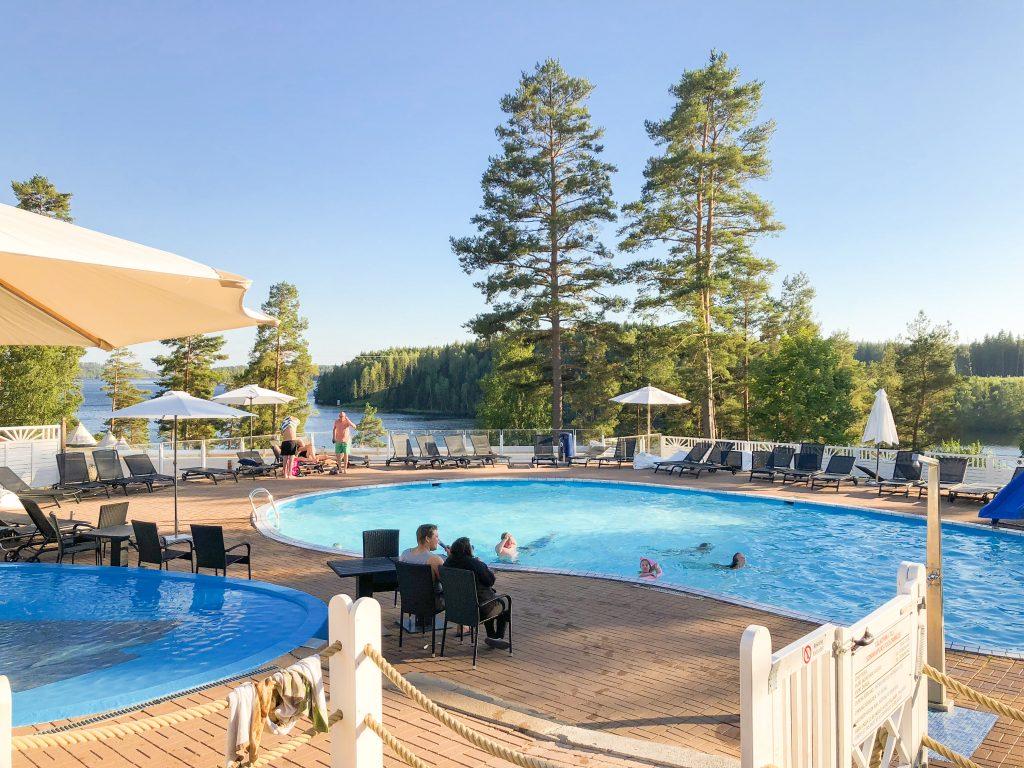 Piscina en Årjäng Camping Sommarvik en Värmland, Suecia