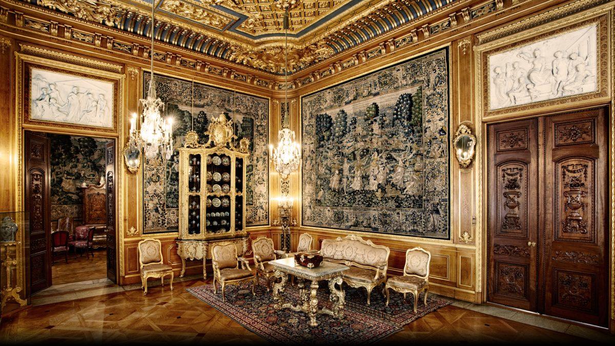 El gran salón del palacio Hallwyls <br> Foto: hallwylskamuseet.se