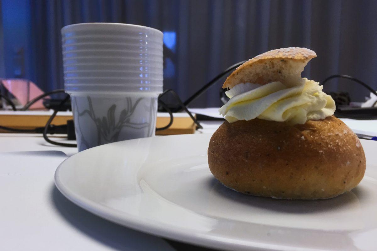 Semla - el bollito de cuaresma sueco <br> Foto: Israel Ubeda / sweetsweden.com