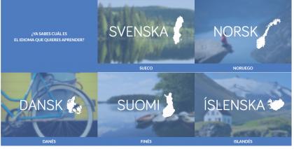 Oferta de clases de idiomas del Institut Nòrdic
