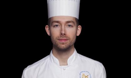 El cocinero del año 2017 en Suecia - Johan Backeus Foto: Jesper Fermgård