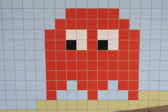 Arte gaming en la estación de metro de Thorildsplan, Estocolmo