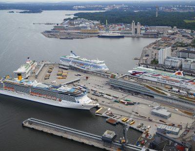 Del aeropuerto de Arlanda a los puertos de cruceros de Estocolmo