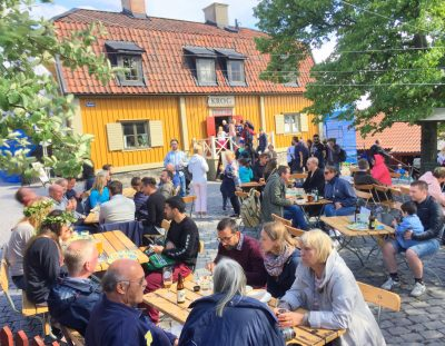 Cuidado con los ladrones en Estocolmo