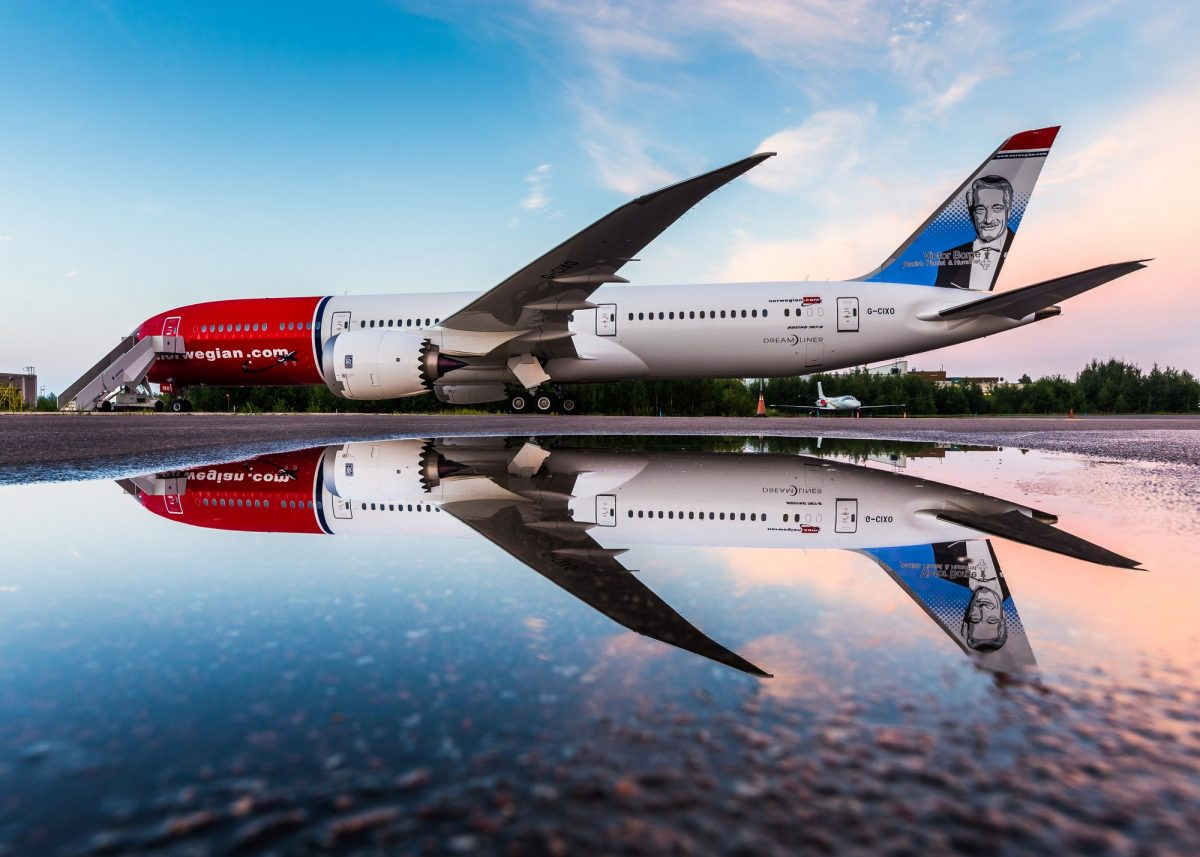 Norwegian Dreamliner <br> Foto: David Peacock