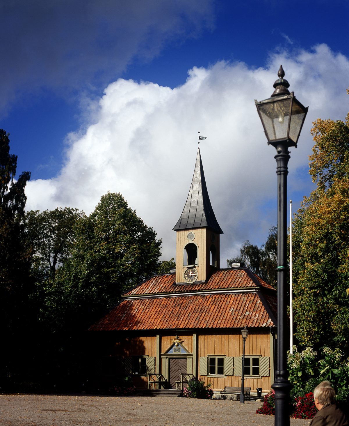 Sigtuna's City Hall <br /> Photo: Linus Hallgren
