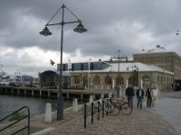 A punto de llover en Gotemburgo junto al Casino Cosmopol, foto: Israel Úbeda/sweetsweden.com