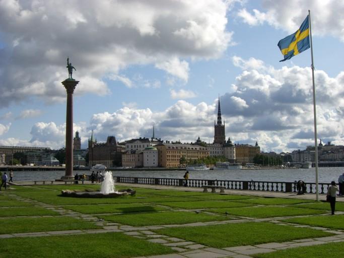 Riddarholmen desde el Ayuntamiento de Estocolmo <br> Foto: Israel Úbeda / sweetsweden.com