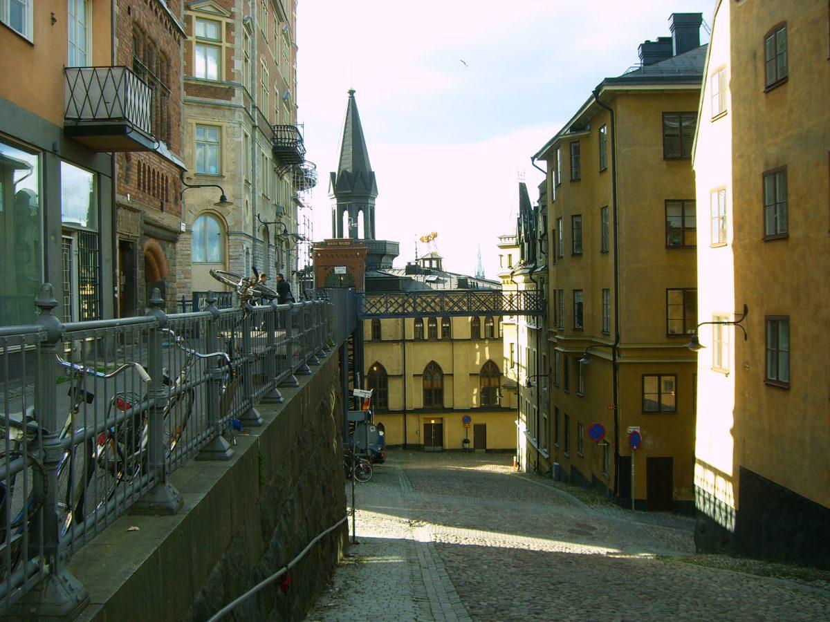 Calle de Bellmansgatan en Södermalm de la ruta Millennium en Estocolmo <br> Foto: Israel Úbeda / sweetsweden.comq