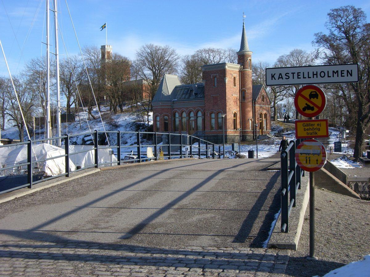 Entrada a la isla de Kastellholmen desde Skeppsholmen en Estocolmo <br> Foto: Israel Úbeda / sweetsweden.com