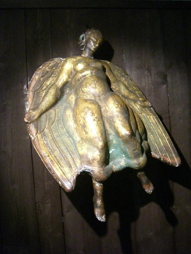 Estatua original del Ángel de la Muerte de Carl Milles <br>Foto: Israel Úbeda/sweetsweden.com