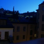 Sol de Medianoche en Estocolmo en junio, foto: Israel Úbeda/sweetsweden.com