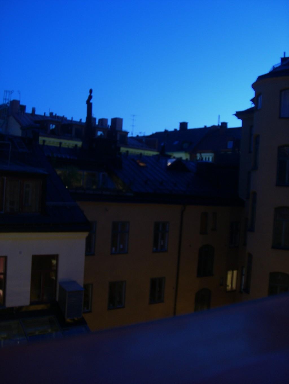 El Sol de Medianoche desde Estocolmo