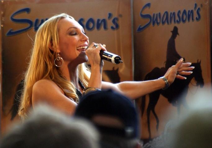Charlotte Perrelli, representante sueca de Eurovision 2008