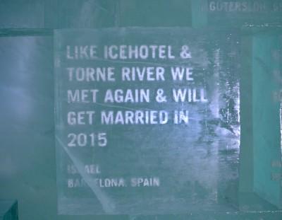 ICELEBRATE: el hotel de hielo ICEHOTEL de Suecia está de enhorabuena (y yo también)