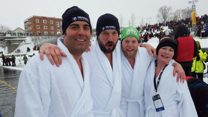 El equipo Pange Ice Challenge - Foto: Ted Logart / visitskellefteå.se
